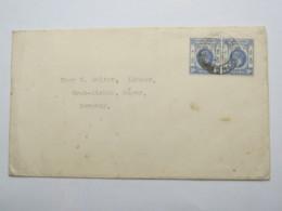 1936 ,  Luftpostbrief Nach  Deutschland - Hong Kong (...-1997)