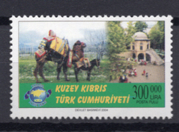 2004 - CIPRO TURCA - Catg.. Mi. 600 - NH - (UP.207.17) - Cipro (Turchia)