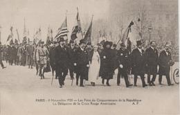 CROIX ROUGE  AMERICAINE  11 NOV.1920 CINQUANTENAIRE DE LA REPUBLIQUE - Croix-Rouge