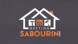 Gestion Sabourin, Mascouche Québec (VC572) - Visiting Cards