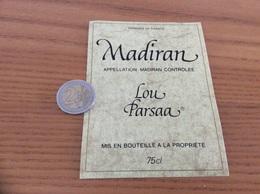 étiquette Vin «MADIRAN - Lou Parsaa» - Madiran