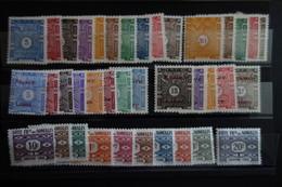COTE DES SOMALIS 5 Séries Taxe N°11/53 * Mh Cote 73 Eu - Ungebraucht