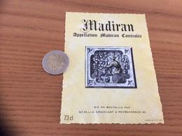 étiquette Vin «MADIRAN - SO DI.LI.A - PEYREHORADE (40)» - Madiran