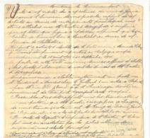 GUERRE 14/18 - Région De VERVIERS - Lettre Manuscrite De 3 Pages - Service De Renseignement, Organisation, ... (b244) - 1914-18