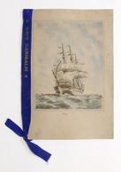 Collezionismo - Calendario Marina Militare 1949 Con Nastro Nave Garibaldi - RARO - Calendriers