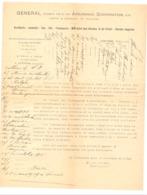 GUERRE 14/18 - Région De VERVIERS - Cette Lettre A Servi De Brouillon Et Parle D'actes De Renseignement, Noms,..  (b244) - 1914-18