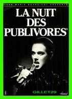 AFFICHES DE FILM - LA NUIT DES PUBLIVORES DE JEAN MARIE BOURSICOT - EDITIONS AXI-HOME - - Affiches Sur Carte