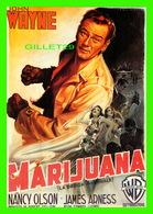 AFFICHES DE FILM - MARIJUANA AVEC JOHN WAYNE - SEDII - - Affiches Sur Carte