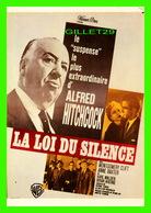 AFFICHES DE FILM - LA LOI DU SILENCE FILM DE ALFRED HITCHCOCK -  EDITIONS HUMOUR À LA CARTE - - Affiches Sur Carte