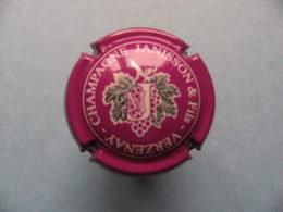 Capsule Champagne - Janisson&Fils Verzenay - Feuille&Raisin (rose&blanc) - Autres