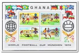 Ghana 1974, Postfris MNH, Football - Ghana (1957-...)