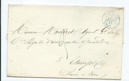 Lettre Paris Pour Etampes 1844 - 1801-1848: Precursors XIX