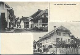 Souvenir De COURGEVAUX ( 2 Vues) - FR Fribourg
