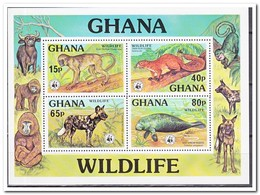 Ghana 1977, Postfris MNH, WWF, Animals - Ghana (1957-...)