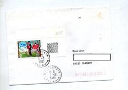 Lettre Cachet Erstein Sur Peynet - Marcophilie (Lettres)
