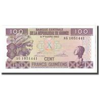 Billet, Guinea, 100 Francs, 1960, 1960-03-01, KM:30a, NEUF - Guinée