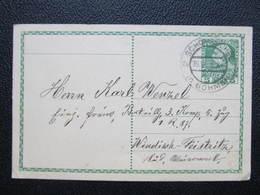 GANZSACHE Schönbüchel B. Schönlinde Krásný Buk - Windischfeistritz 1915  Korrepospondenzkarte ///  D*36211 - 1850-1918 Imperium