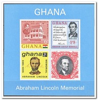 Ghana 1965, Postfris MNH, 100th Anniversary Of Abraham Lincoln's Death - Ghana (1957-...)
