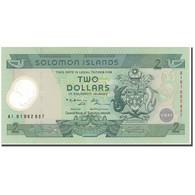 Billet, Îles Salomon, 2 Dollars, KM:23, NEUF - Salomons