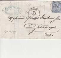 SECLIN : (59 NORD) Convoyeur Station  De SECLIN Ligne 77 INDICE 13 Lettre Avec Courrier - Postmark Collection (Covers)