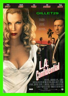AFFICHES DE FILM - L. A. CONFIDENTIAL - KEVIN SPACEY, RUSSELL CROWE, GUY PEARCE, KIM BASINGER, DANY DEVITO - - Affiches Sur Carte