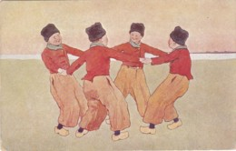 Brüder Kohn Petits Hollandais - Garçons  Ronde - B.K.W.I. 648 (lot Pat 42) - Künstlerkarten
