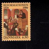 7064711895 DENMARK POSTFRIS MINT NEVER HINGED POSTFRISCH EINWANDFREI  SCOTT 830 PROTESTANT REFORMATION IN DENMARK - Danemark