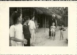(ASIE )( VIETNAM  )(VILLAGE  DE CANOA )( ANAMM ) 1952  ( ETHNIE ET CULTURE ) - Places