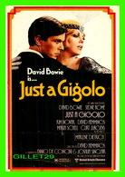 AFFICHES DE FILM - DAVID BOWIE IS JUST A GIGOLO - ÉDITIONS HUMOUR À LA CARTE - - Affiches Sur Carte