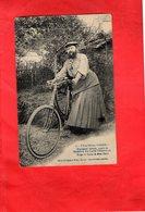 F2501 - THAON Les VOSGES - 88 - Madame Delait Cycliste - Thaon Les Vosges