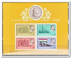 Ghana 1964, Postfris MNH, 4 Years Republik - Ghana (1957-...)