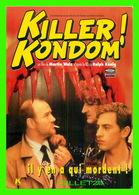 AFFICHES DE FILM - KILLER KONDOM FILM DE MARTIN WALZ EN 199 - - Affiches Sur Carte