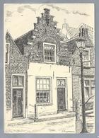 NL.- GOEDEREEDE. Huisje In De Kerkstraat. Tekening Van A. Boogerman. - Schone Kunsten