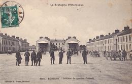 LORIENT  -  INTERIEUR DU QUARTIER FREBAULT - Lorient