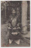 5808 Vietnam Indochine ANNAM Noble Head Monk Palace - Vietnam