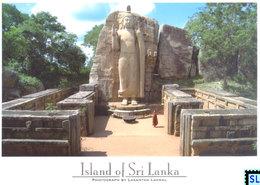 Sri Lanka Postcards, Aukana Buddha, Polonnaruwa, UNESCO, Postcrossing - Sri Lanka (Ceylon)