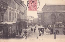 LORIENT  -  EGLISE SAINT LOUIS  -  PLACE BISSON - Lorient