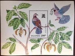 Uganda 1982 Birds Minisheet MNH - Non Classificati