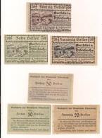 3 Notgeldscheine Biberbach 10, 20 + 50 H - (1) - Kilowaar - Bankbiljetten