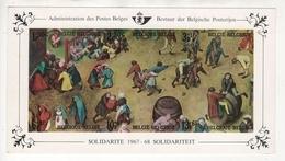 Belgique : Feuillet De Luxe LX52 (COB 1437/42) En Superbe état ** Bien Entendu. Rare !! 800 Ex. - Libretti Di Lusso