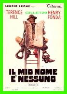 AFFICHES DE FILM - IL MIO NOME E'NESSUNO - PAR SERGIO LEONE WITH TERENCE HILL & HENRY FONDA - SEDII - - Affiches Sur Carte