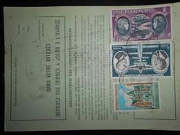 France Poste Aerienne , Ordre De Reexpedition De 1975 - Poste Aérienne