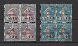FRANCE.  YT  N° 249-246  Obl  1927-28 - Usati