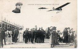 Grande Semaine D'Aviation De Lyon Latham En Course Pour Le Prix De Vitesse - Meetings