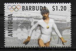 ANTIGUA  N° 1854  * *   Jo 1996 Gymnastique Comaneci - Gymnastiek