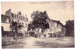 3997- Villeneuve ( 12 ? ) - Place De La Porte Haute - - Andere Gemeenten