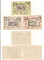 3 Notgeldscheine Dürnstein 10, 20 + 50 H - Coins & Banknotes