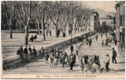 13 AUBAGNE - Cours Beaumont Et Rue De La République - Aubagne