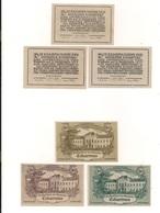 3 Notgeldscheine Eckartsau 20, 30 + 80 H - Coins & Banknotes