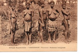 CAMEROUN : Femmes Indigene , Yaoundé - Cameroun